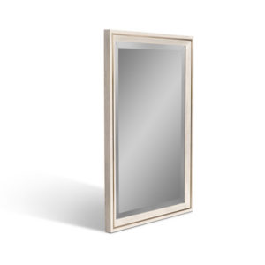 Pavilion Oak and Brass Trim Mirror