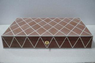 jewellery box shagreen resin pattern
