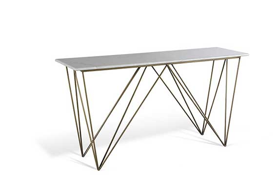 marble console table made in vietnam