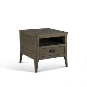 Recycled pine end table