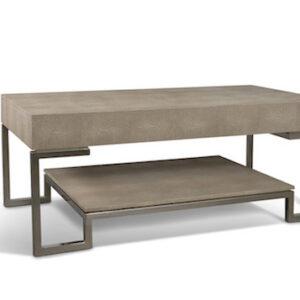Arundel shagreen coffee table