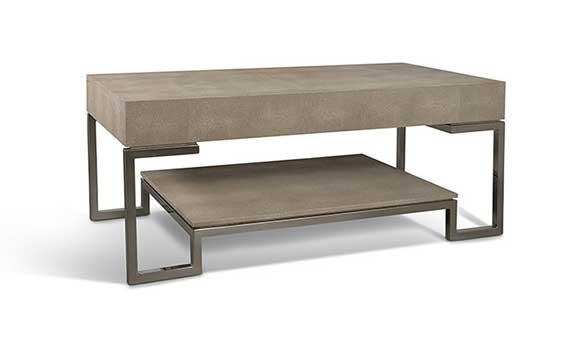 shagreen coffee table