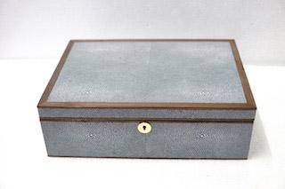 shagreen jewellery box