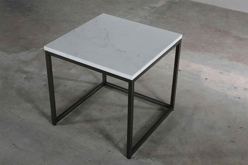 square marble furniture coffee table